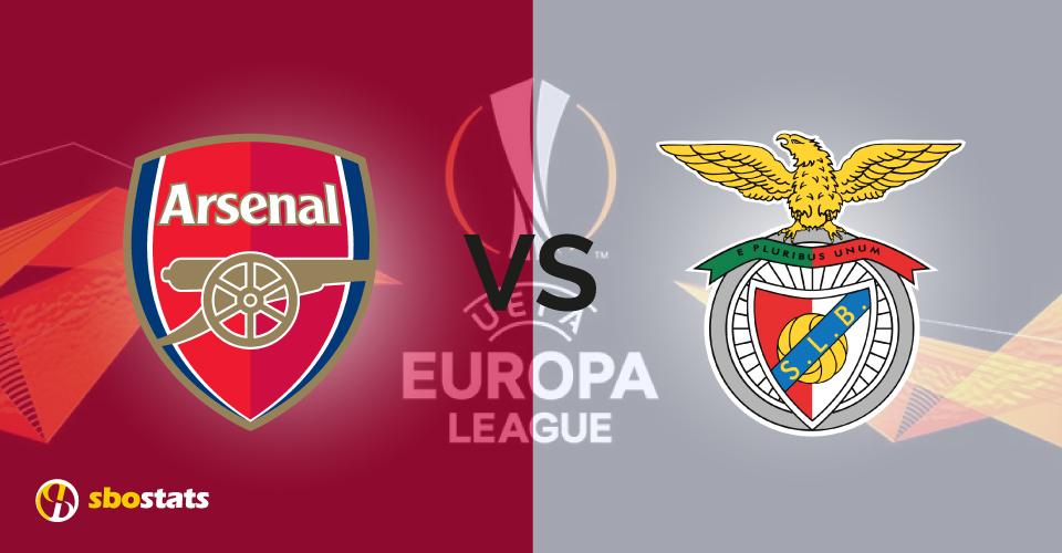 Arsenal – Benfica, la statistica di Sbostats