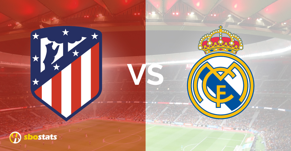 Atletico Madrid – Real Madrid, la statistica di Sbostats