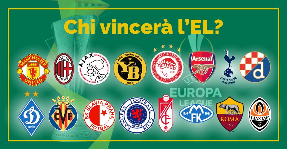 Ottavi di finale di Europa League 2020/21, la statistica di Sbostats