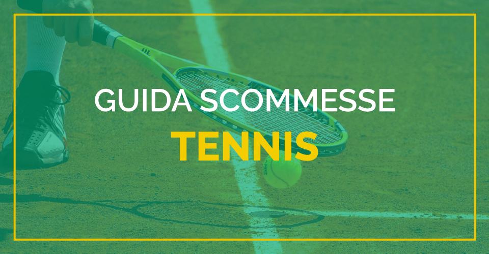 La guida di Sbostats alle scommesse tennis: tipologie e regolamenti dei mercati offerti dai bookmakers
