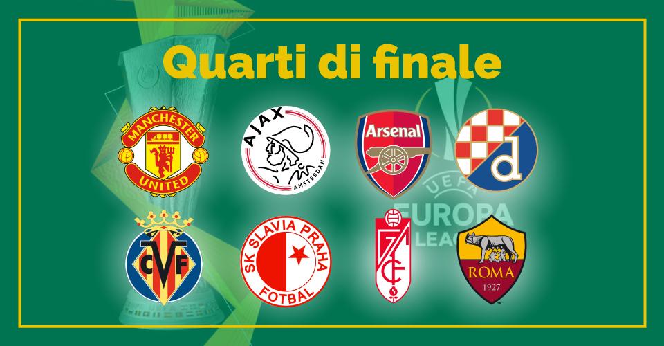 Quarti di finale di Europa League, la statistica di Sbostats