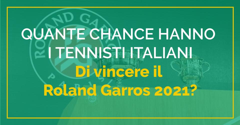 tennisti italiani al roland garros 2021