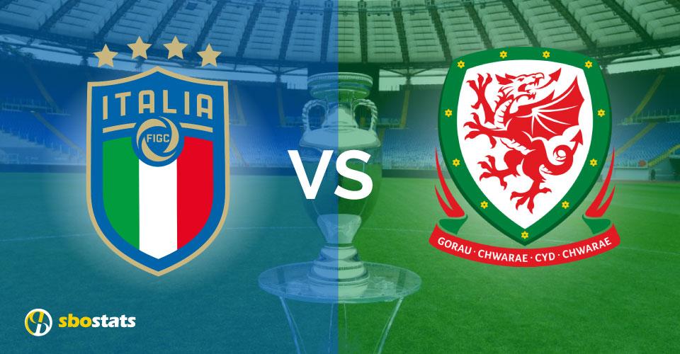 Euro 2021, la preview di Sbostats su Italia – Galles