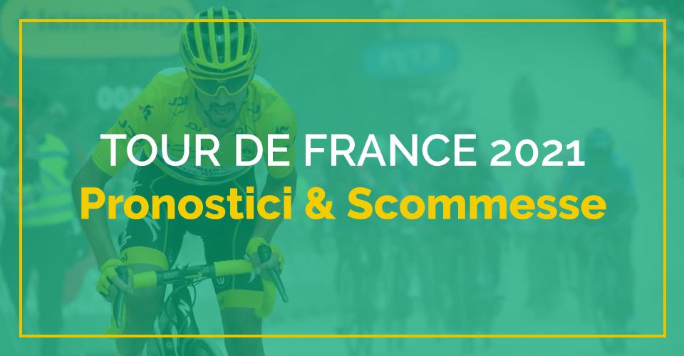 Tour de France 2021, pronostici e quote scommesse