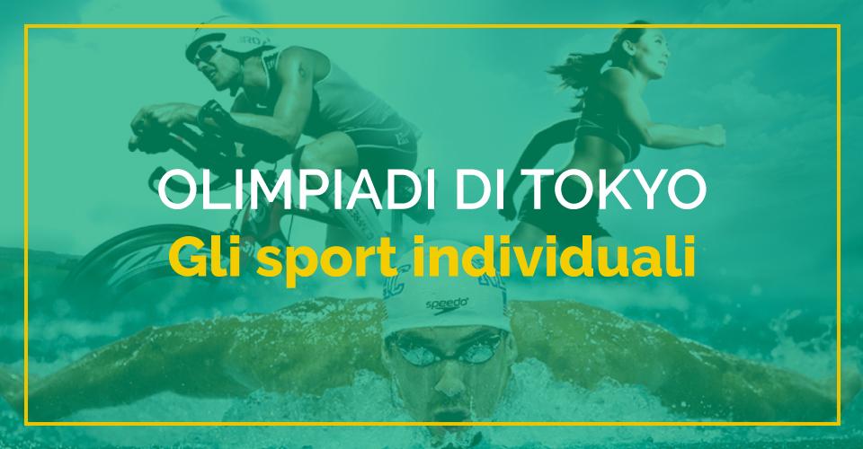 Speciale Sbostats Olimpiadi 2021 Tokyo: tutto quello che c'è da sapere sugli sport individuali
