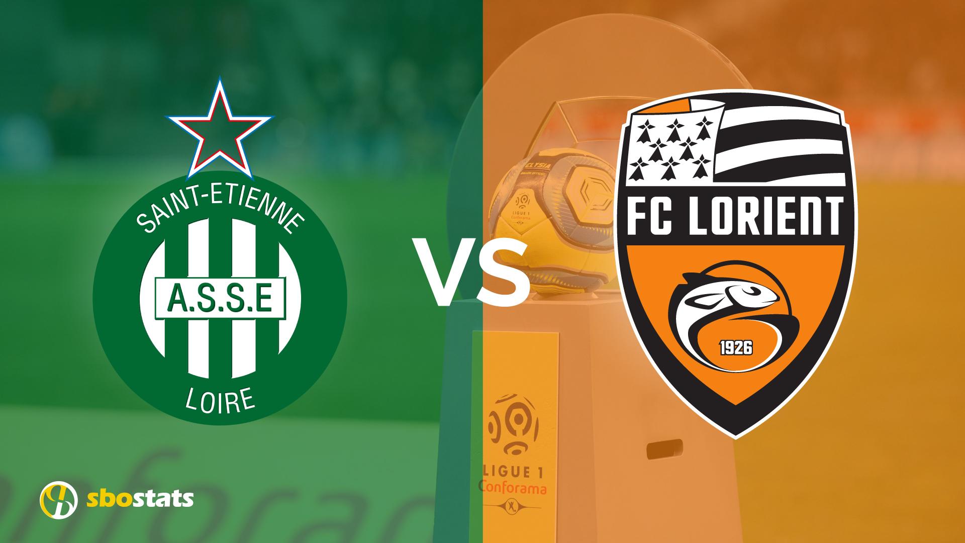 St.Etienne-Lorient, probbaili formazioni statistiche e pronostico