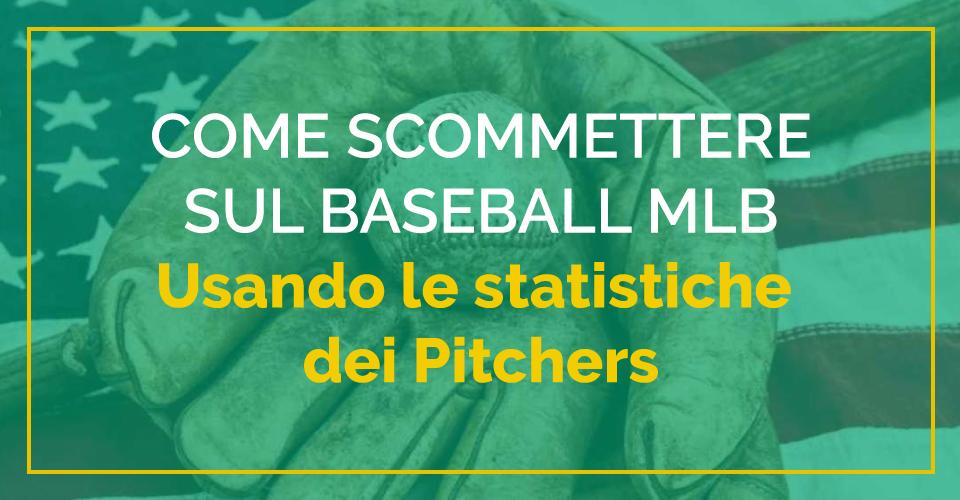 ERA e altre statistiche sul baseball MLB per vincere alle scommesse