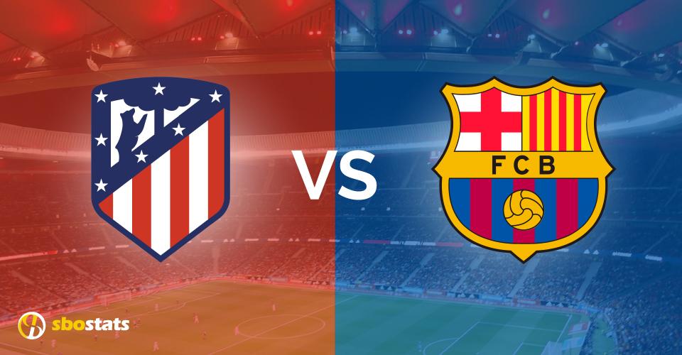 Atletico Madrid – Barcellona, statistiche e pronostico di Sbostats