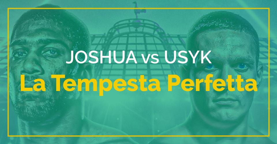 Scommesse pugilato, tutto quello c'è da sapere Joshua vs Usyk