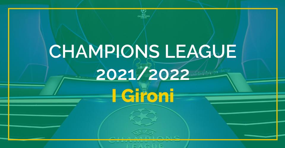 Scommesse Champions League, quote e pronostici sui gironi e sul vincente