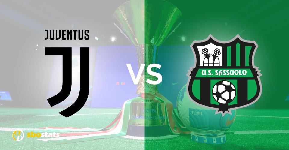 Juventus-Sassuolo, probabili formazioni, statistiche, quote e pronostico